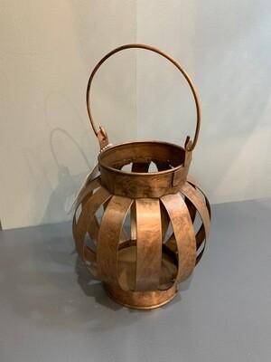 Short Copper Lantern