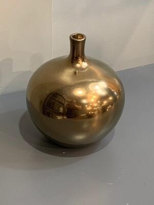 Ansen Metallic Vase Md