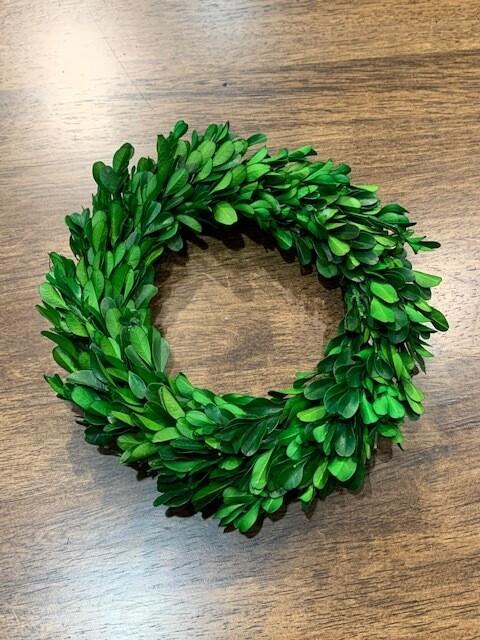 Mini Boxwood Wreath Lg