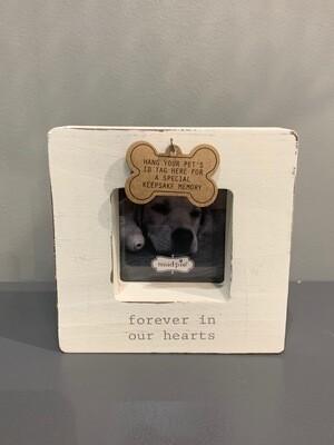 Heaven Dog Tag Frame