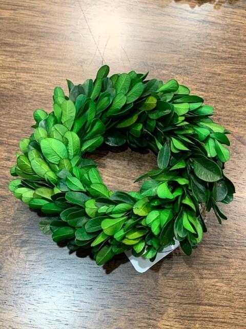Mini Boxwood Wreath Sm
