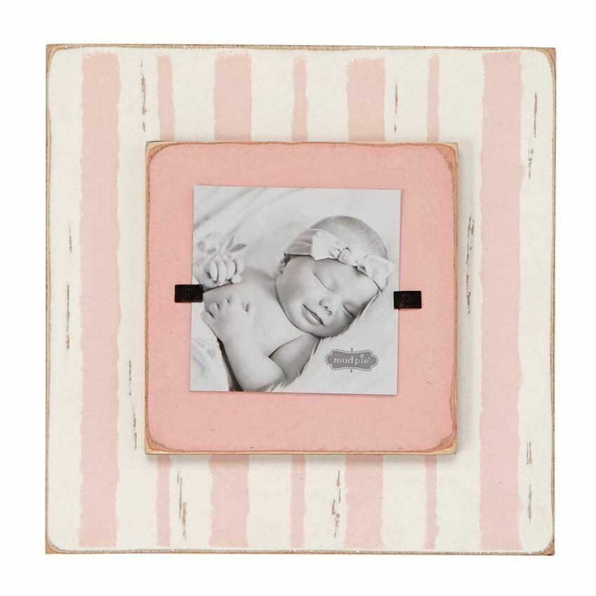 Layered Stripe Pink Frame