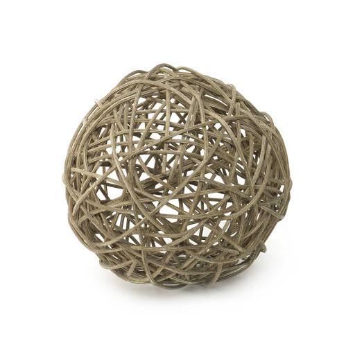 "Twig Ball 6"" Gray"