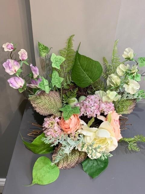"16"" Floral Nest"