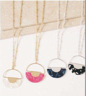 Bandana Babe Circle Necklace