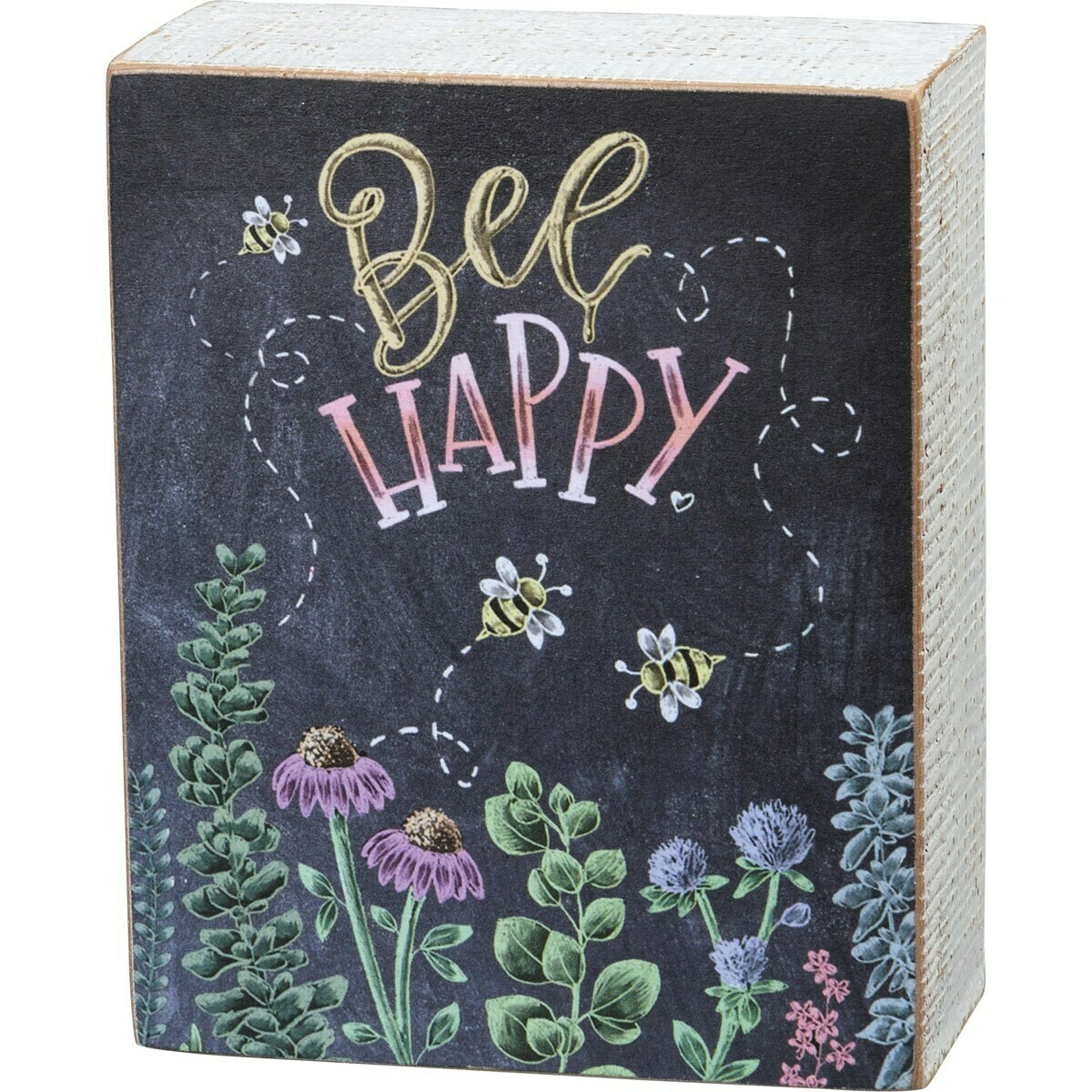 Bee Happy Chalk Sign