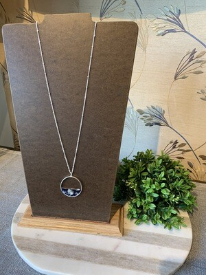 Feelin Groovy Circle Necklace