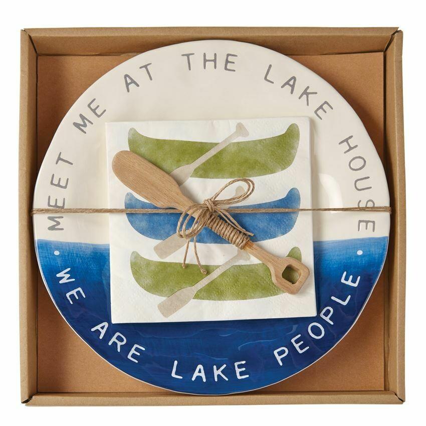 Lake House Cheese Set