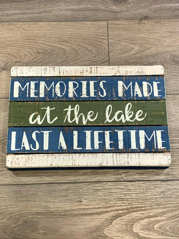 Memories Box Sign