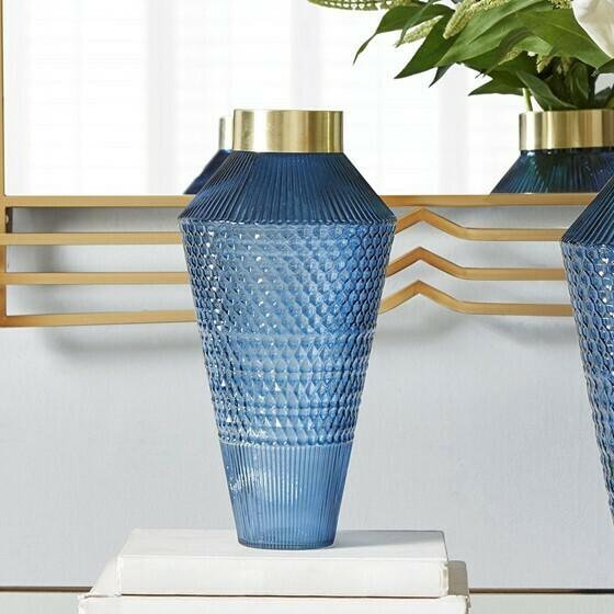 Camden Textured Vase Sm