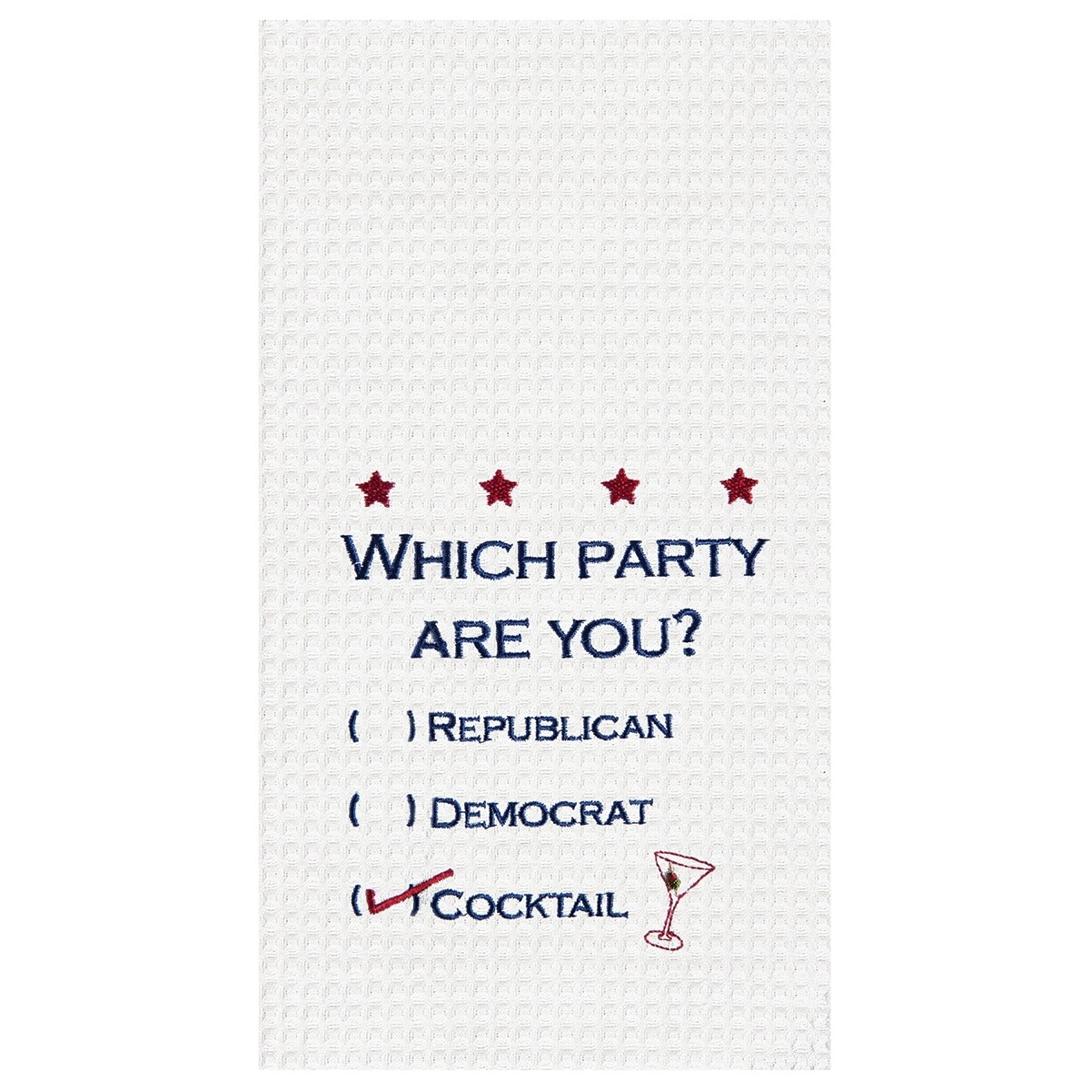 Which Party Are You Dish Towel
