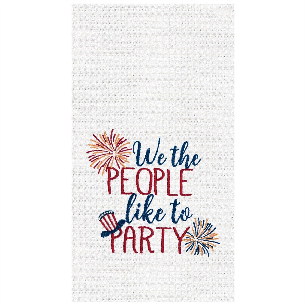 We the People Dish Towel