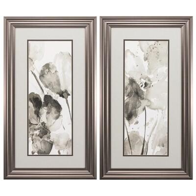 Abstract Flower Framed Wall Art