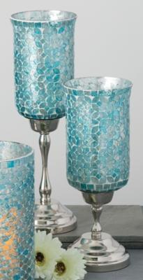 Mosaic Candle Holder Set