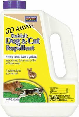 Rabbit, Dog, & Cat Repellent - 3 lb
