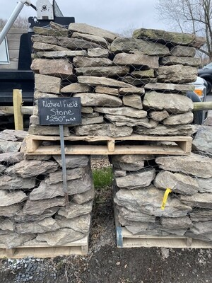Natural Fieldstone Wallstone  Pallet