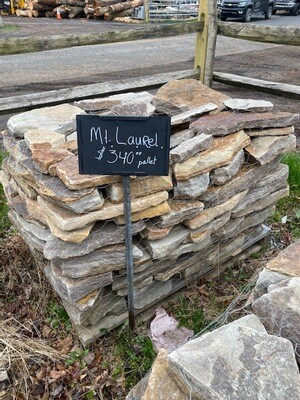 Mt. Laural Wallstone Pallet