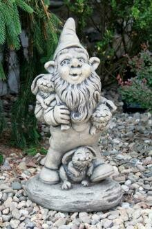 Gnome and Bunnies