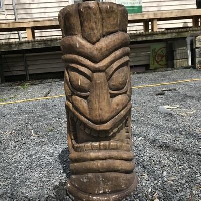 Laughing Tiki Face
