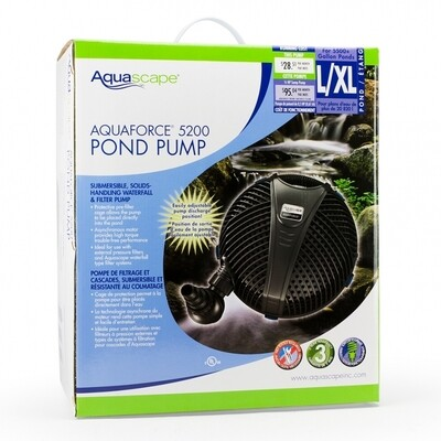 Pond Pump - AquaForce 5200