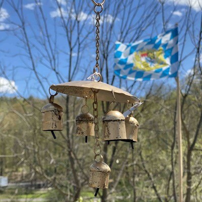 Farm Bell Wind Chime small