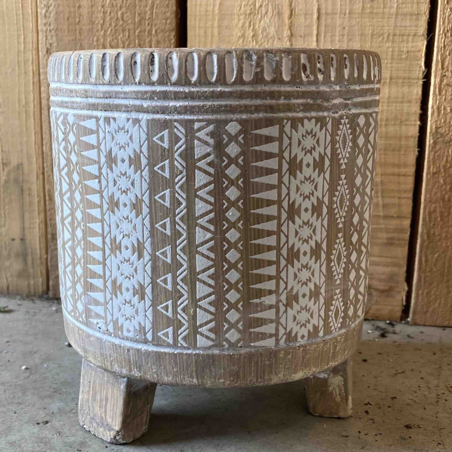 Footed Drum Small Petits Pot