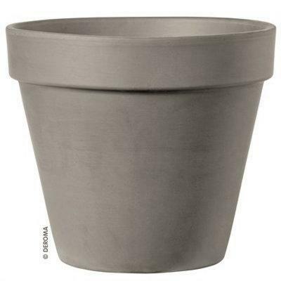 Terra Cotta Standard Clay Pot (Mocha)