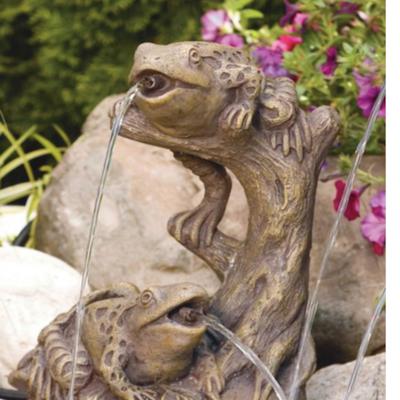 Garden Frogs - Plumbed ( R91)