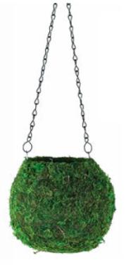 Moss Ball Hanging Planter