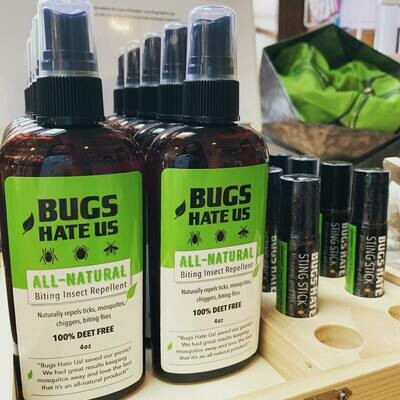 Bugs Hate Us - All Natural Insect Repellent