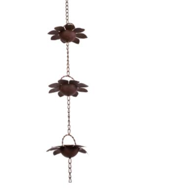 Flower Rain Chain