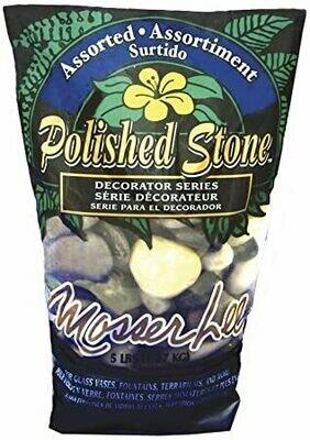 Assorted Polished Stone 5 lbs.