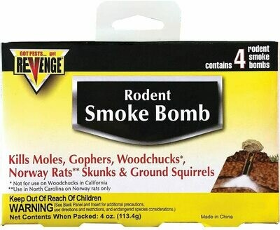 Rodent Smoke Bomb 4.4 oz