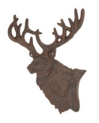 Elk Plaque Metal