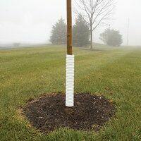 Vinyl Tree Guard - 4 ft