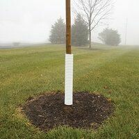 Vinyl Tree Guard - 4 ft