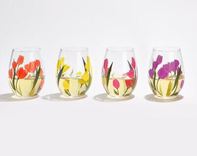 2C Tulip Wine Glass