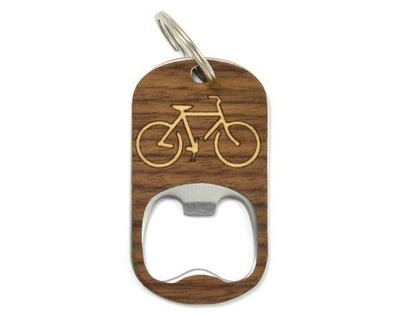 Key Chain Bottle Opener - Bike
