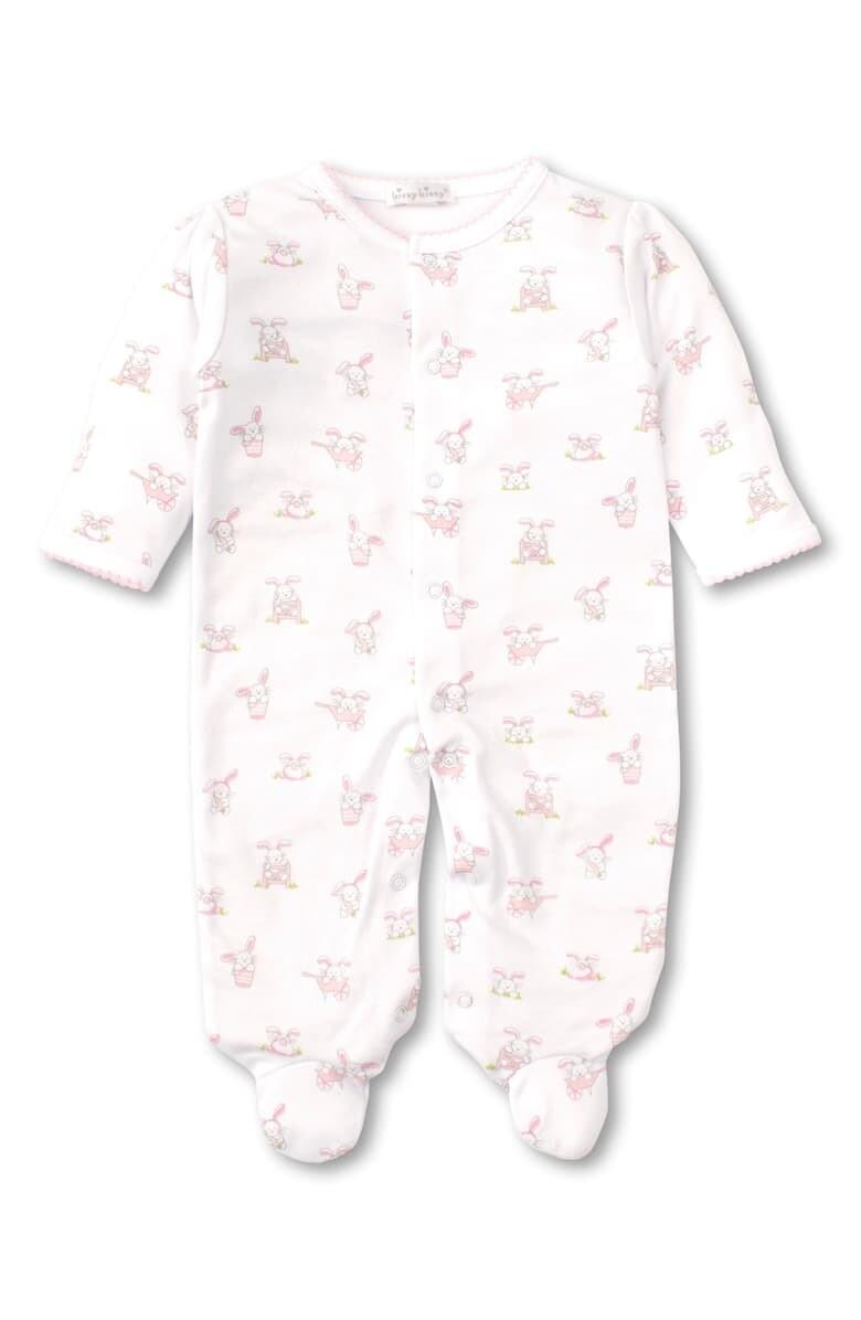 KK Bunny Buzz Footie Pink