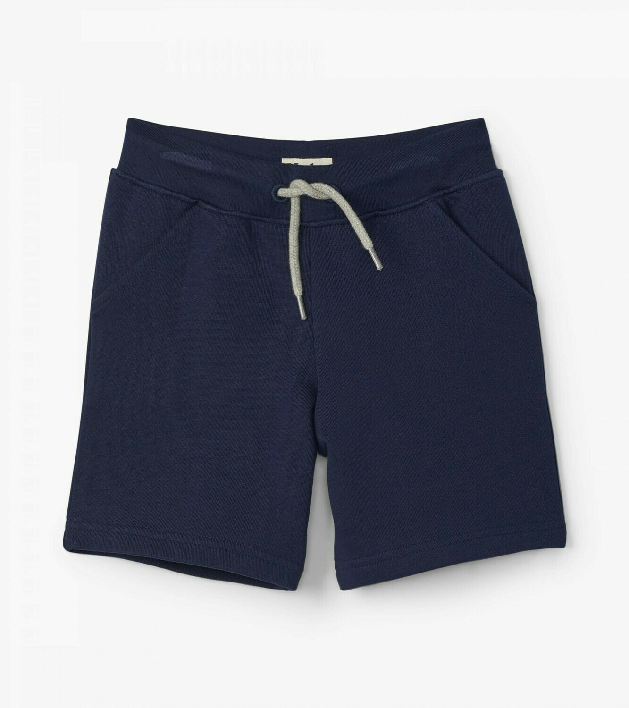 Hatley Toddler Navy Terry Shorts