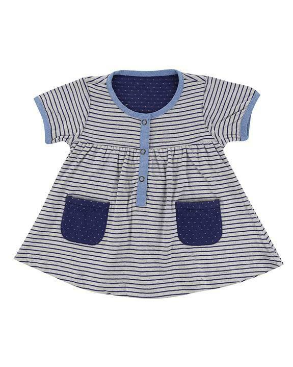 Lilly & Sid Reversible Stripe Dress