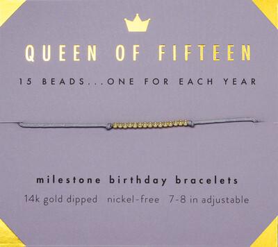 Milestone bracelet - 15