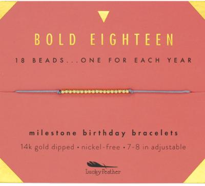 Milestone bracelet - 18