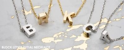 CAI initial necklace