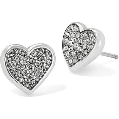 Brighton Eden Hearts Mini Post Earrings