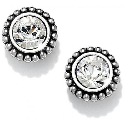 Brighton Medium twinkle earrings - crystal