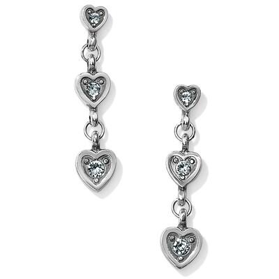 Brighton Meridian love note earrings
