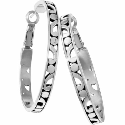 Brighton contempo hoop earring large