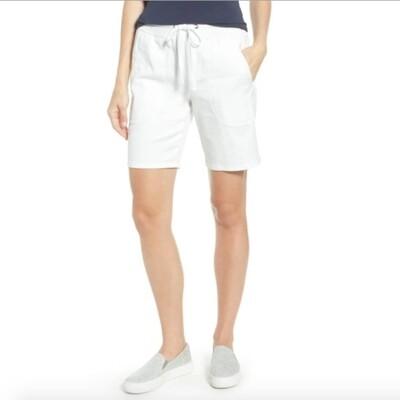Nic + Zoe Paper white shorts - 4