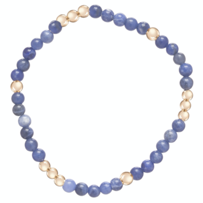 eNew Worthy pattern 4mm bracelet sodalite